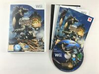Monster Hunter 3 Tri Nintendo Wii Game | Complete & Tested | MINT Condition PAL
