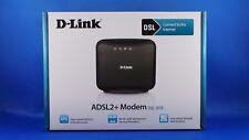 D-Link DSL 321B Ethernet Modem ADSL2+ LAN & ADSL RJ 11 Port Model HW Z1 1.14 OVP