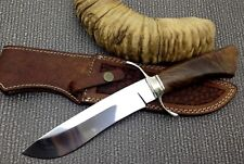 MURT ART CUSTOM HANDMADE 440C STAINLESS STEEL HUNTING  KNIFE/ ROSEWOOD HANDLE