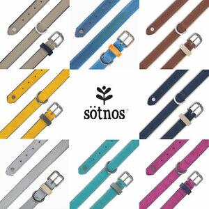 Sotnos Aquatech Brights Classic Reflective Dog Collars 8 Colours 5 Sizes