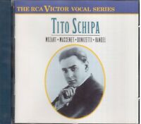 Tito Schipa : Mozart, Massenet, Donizetti, Handel - CD