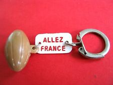 Ancien Porte Cle RUGBY Allez France 5 Nations 66-67