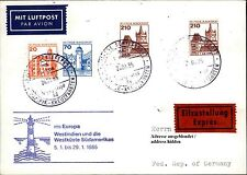 Seepost Brief Eilzustellung Schiff MS EUROPA Shipletter Express v.d. Kreuzfahrt