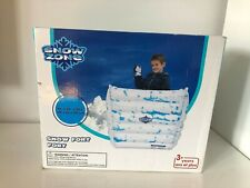 """Inflatable Snow Fort 45"""" x 24"""" 35.5"""" New"""