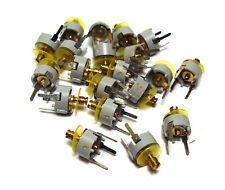 20x Trimm-Kondensator, Kapazitäts-Trimmer, Folien-Scheibentrimmer, 2...10 pF