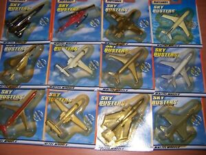 """Matchbox Skybusters - Full Set """"MIC"""""""