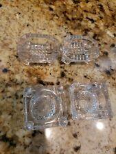 New ListingAntique Vintage Lot Open Salts Salt Cellar Dip Dishes Clear Glass