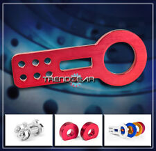 FRONT RACE TOW HOOK KIT RED FOR TC IMPREZA CAMRY CELICA COROLLA VW GOLF JETTA