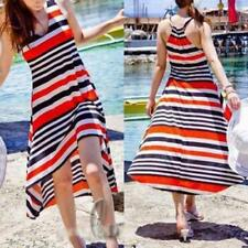 Stripes A-Line Hand-wash Only Dresses for Women