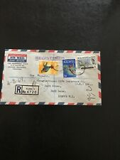 STAMPS - MALAYSIA AIR MAIL COVER THE CHARTERED BANK  KLANG 1 TO UK