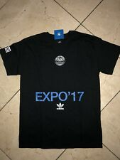 NEW Adidas x Expo Short Sleeve '17 Complexcon 2017 Y3 Exclusive Black Blue sz M