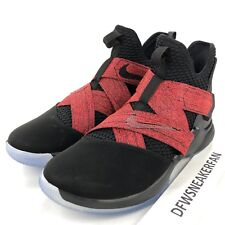 d1f24d476d9d Nike Lebron Soldier XII Men s Size 15 Basketball Shoes Black Red AO2609-003  New
