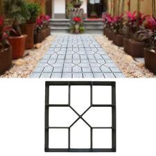 Path Maker MoldS Diy Block Garden Home Concrete Cement Stone Form Design Usa