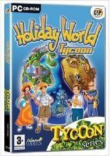 Holiday World Tycoon PC/Game/Computer/Video/Safari/Underwater/Ocean/Beach/Island