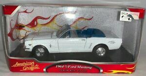 American Graffiti 1964 1/2 White Ford Mustang Metal Die Cast, 1:24, MIB (B61)