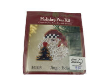 Mill Hill Holiday Pins Jingle Bells Cross Stitch Pattern With Beads