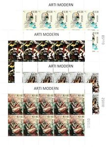 Kosovo Stamps 2019. Modern Art. Mini Sheet MNH