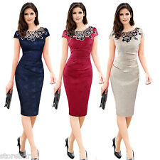 Summer Womens Formal Business Cocktail Evening Party Office Sheath Bodycon Dress