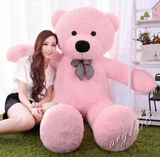 "72''GIANT BIG  personalised ""pink "" TEDDY BEAR soft toys bears gift+EMS ship"