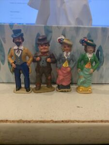 LGB 1:22.5 G Scale People Standing Train Station Figures Four (4) #5249
