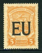 Colombia MNH Specialized SCADTA Consular: Scott #CLEU50 5c UNITED STATES $$$