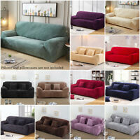 Quilted Stretch Sofa Slip Cover, Anti Slip Pet Furniture Sofa Protector Throw