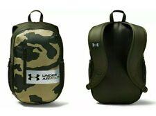 Under Armour UA Unisex Roland Camo Two Strap Laptop Rucksack Backpack Travel Bag