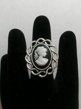 Statement Tibetan Silver Costume Rings