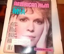 Mia Farrow, Stanley Kramer, Michael Powell - American Film Magazine 1987