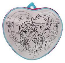 Disney Frozen Rosa/Blanco en Forma + 4 Plumas Niños Mochila Ideal Escuela Regalo