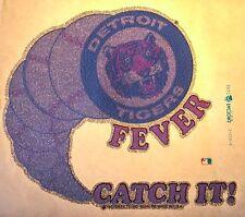 1979 Mlb Detroit Tigers Mlb Baseball Topps Fleer Unused vtg Orig t-shirt iron-on
