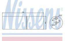 NISSENS Filtro deshidratante, aire acondicionado MERCEDES-BENZ SPRINTER 95231