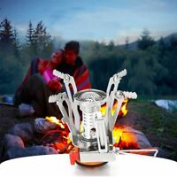 Protable 3500W Outdoor Picnic Gas Burner Foldable Camping Mini Steel Stove +Case
