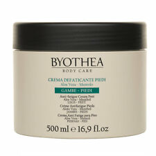 Byothea Anti Fatigue Soothing Foot Cream, w- Aloe Vera and Menthol, 500ml