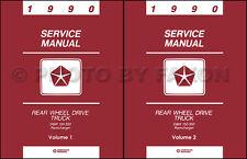 1990 Dodge Pickup Truck Shop Manual D150 D250 D350 W150 W250 W350 Service Repair