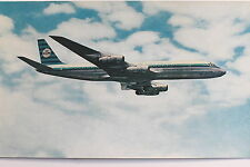 17253 Riesen AK Postkarte Flugzeug KLM Douglas DC-8 Aircraft Photo PC color