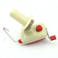 Hand-Operated Yarn Winder Fiber Wool String Thread Skein Ball Machine New
