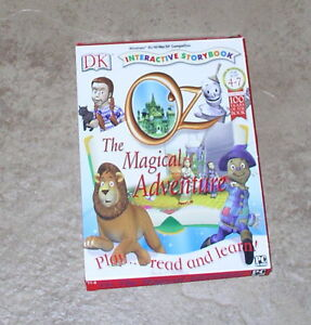 DK Oz The Magical Adventure Interactive Storybook PC software