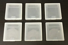 GAME CARTRIDGE CASES FOR NINTENDO GAMEBOY GAMES - SET OF 6 - GBP GB GBC