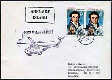 ANTARCTIC BAT HELICOPTER FLIGHT ADELAIDE ISLAND HMS ENDURANCE 1976