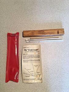 Vintage Spyderco Crock Stick Knife and Scissor Sharpener