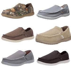Crocs Men's Santa Cruz Comfortable Loafers Slip On Casual Shoes