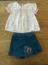 Nwot Arizona Baby Girl Outfit - Size 12M