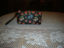 COACH Double Zip Wallet in Daisy Field Print Coated Canvas 55774