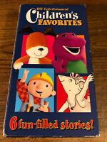 Children's Favorites 6 Fun-filled Stories! VHS VCR Video Tape Used Cartoon