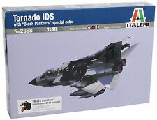 Italeri 2668 1/48 Scale Model Military Aircraft Kit Tornado IDS Black Panthers