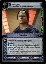 Star Trek CCG 2E Necessary Evil Hogue, Student of Political Ethics 4C118