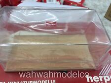 Herpa 1/43 dispaly box 055093 wood base