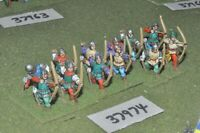 25mm medieval / english - wars of roses archers 12 figures - inf (37974)
