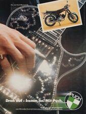 Puch Monza 6 SL - Reklame Werbeanzeige Original-Werbung 1977 (1)